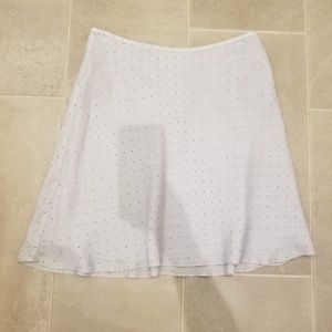 Calvin Klein White Mini Skirt
